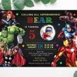 avengers-superhero-birthday-invitation-template-with-photo