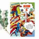 comic-book-superheroes-invitation-instant-download
