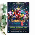power-rangers-invitation-template