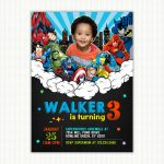 superheroes-with-picture-invite-vertical-preview