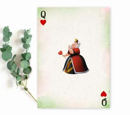 Alice adventures in Wonderland invite