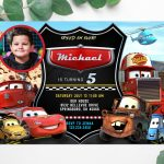 cars-Lightning-McQueen-invitation-with-picture-template