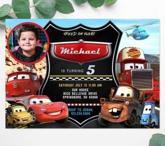 Lilo And Stitch Invitations