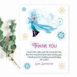 frozen-birthday-thank-you-card-template