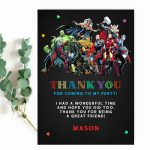 superhero-marvel-thank-you-card-template