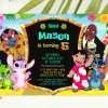 Lilo and Stitch party invitation editable template