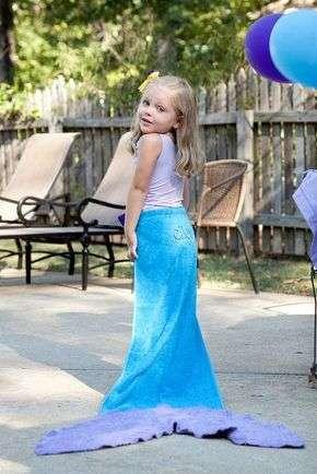 little mermaid costume idea