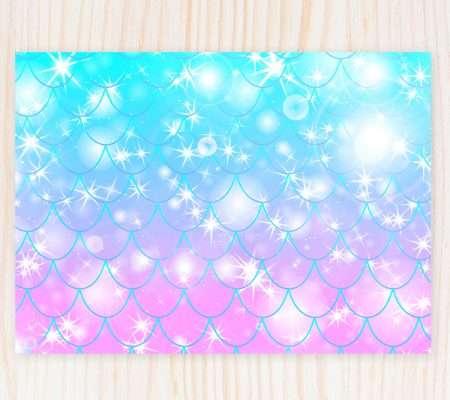 mermaid invitation edit online