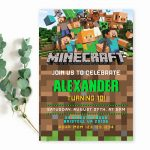 minecraft-gamer-birthday-invitation-template-editable