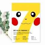 pikachu-birthday-invitation
