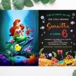little-mermaid-invitation-template