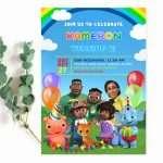 cocomelon-invitation-editable
